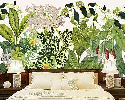 Carta Da Parati Foresta Tropicale : Wapel carta da parati personalizzata home murale decorativo in stile