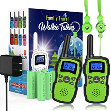 Amazon.com: Wishouse 2 - Walkie Talkies recargables: Toys ...