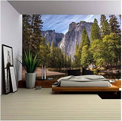 2810J Photo Wall Mural-MOUNTAIN VIEW- -NON WOVEN-Wallpaper-Nostalgic Sea Sun XXL