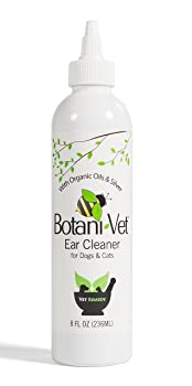 BotaniVet Organic Oils and Silver Dog Ear Cleaner