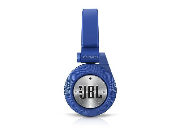 JBL E40 BT Auriculares supraaurales estéreo almohadillados recargables inalámbricos, compatible con dispositivos iOS de Apple y Android, ...