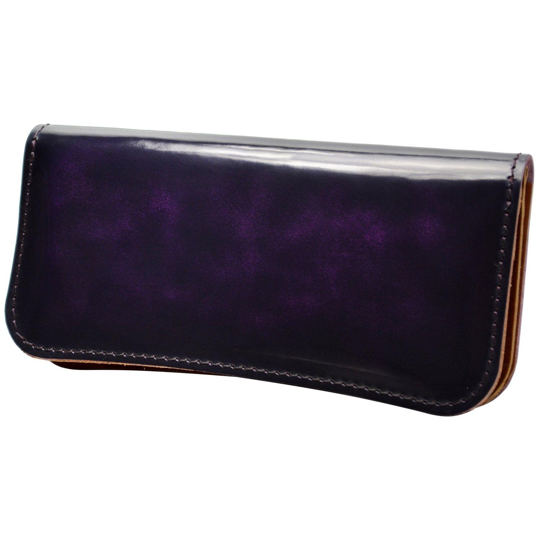 atelierCODEL 栃木レザー 長財布 日本製 ヌメ革 メンズ B079TW262Q アドバンティックパープル アドバンティックパープル