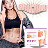 SPA GELPATCH 42 - Slimming Body Wraps for Weight Loss - Tighten and Tone Belly and Abdominal Muscle by Burning Fat - Comfortable Attachment in Everyday Life - Capsaicin, Minerals and Caffeine (5 Pcs)