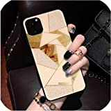iphone xs max11携帯電話ケースに適したダイヤモンド格子携帯電話ケース、ピンクダイヤモンド、iphone11proMAX(6.5)