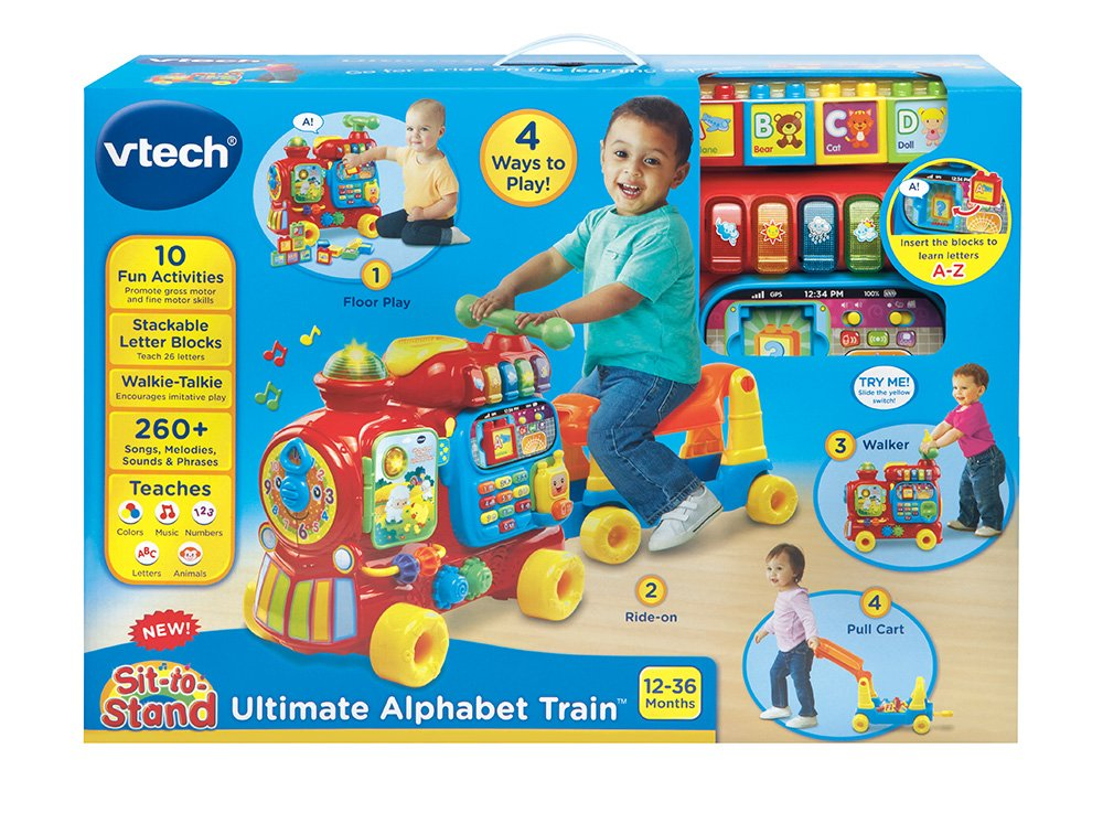 VTech Sit-to-Stand Ultimate Alphabet Train by VTech (Image #8)