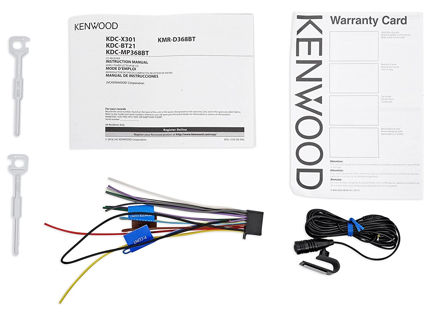 Kenwood Cd Player Bluetooth Receiver Ipod Android Wiring Harness Back Pandora For 03 07 Honda Accord Car Electronics
