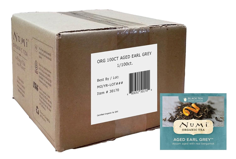 Bulk organic tea - Amazon Com Numi Organic Tea Aged Earl Grey Full Leaf Black Tea 100 Count Bulk Non Gmo Tea Bags Black Teas Grocery Gourmet Food