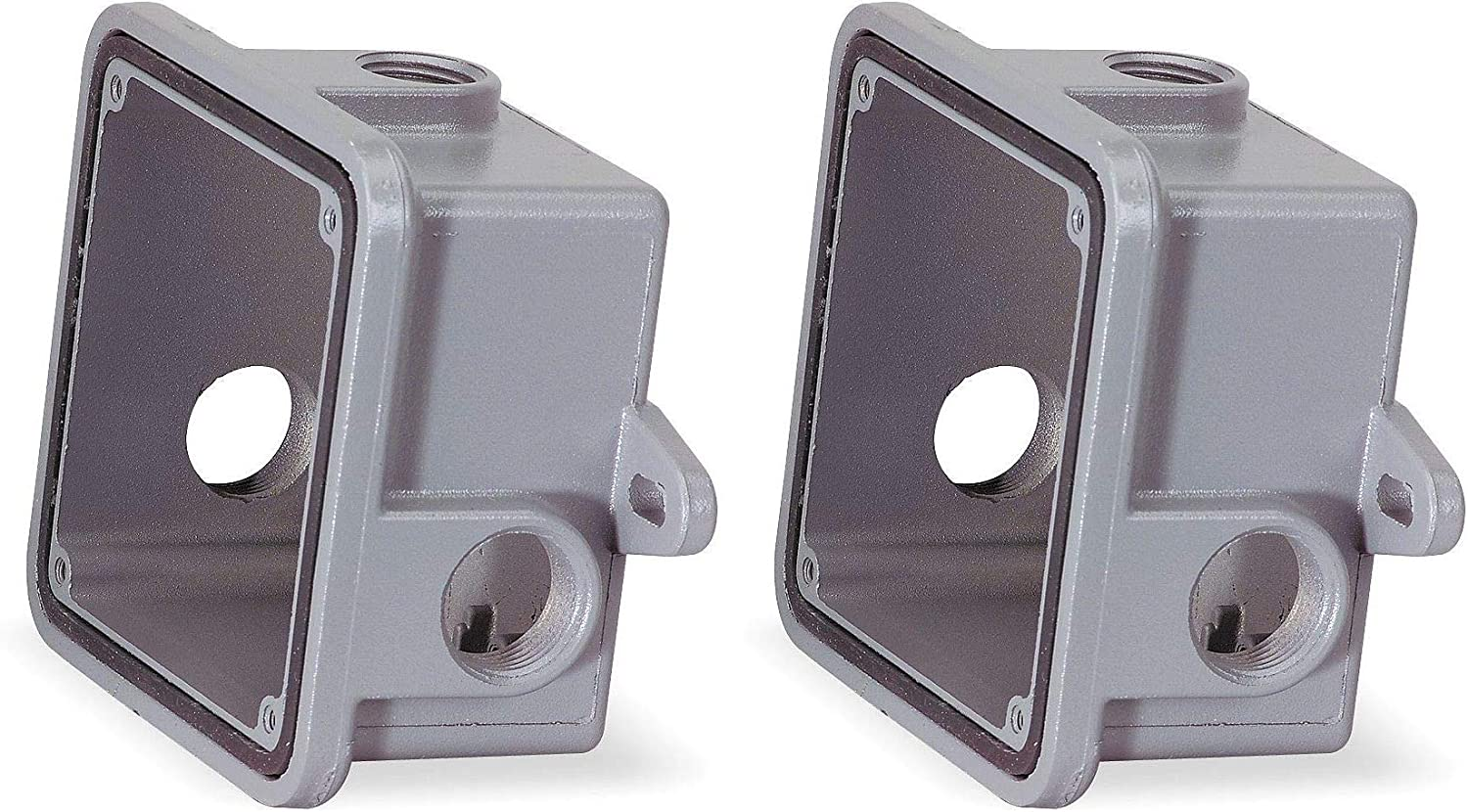 Amazon Com Federal Signal Wb Weatherproof Back Box Housing Accessory Gray Four Pask Home Improvement