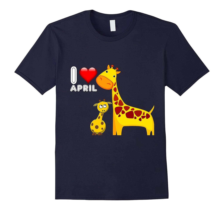 April the Giraffe Gave Birth To Ger Baby 2017 T-Shirt-CD