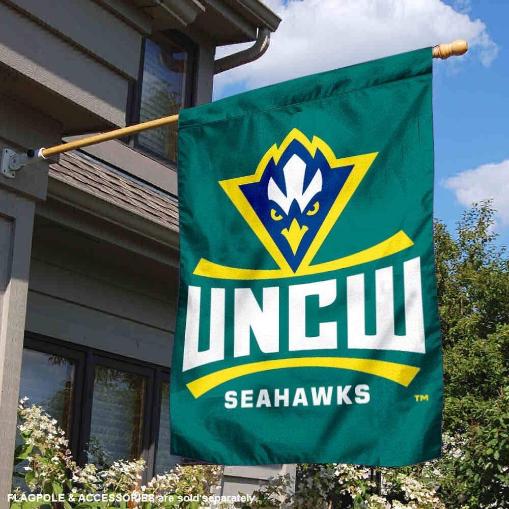 BSI NCAA North Carolina Wilmington Seahawks 3 x 5 Flag with Grommets Yellow