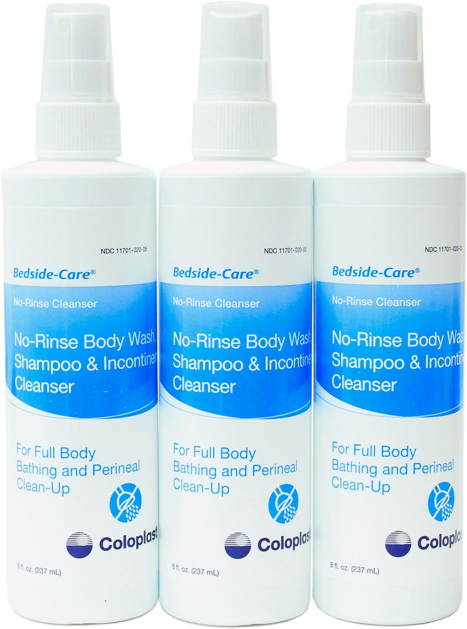 No-Rinse Body Wash, Shampoo And Incontinent Cleanser(3-Pack) product