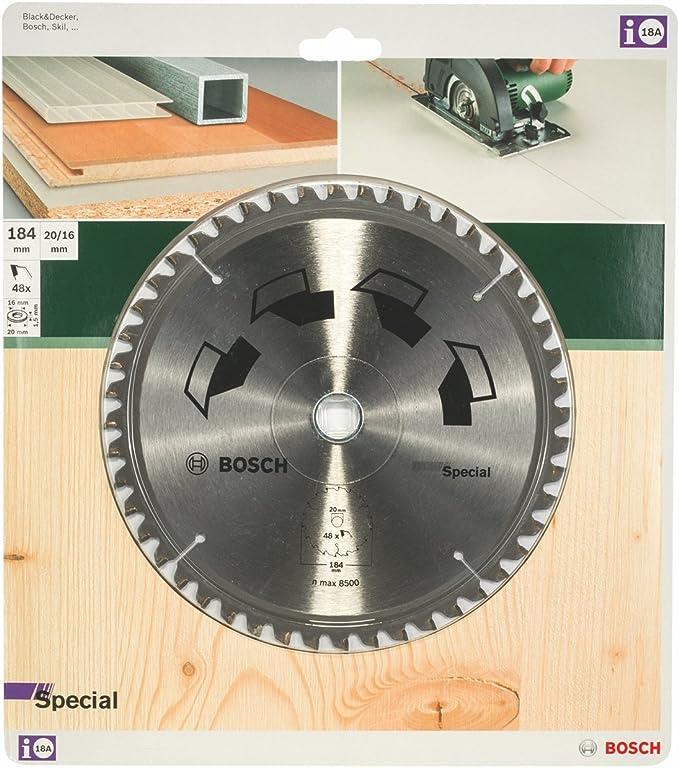 Bosch 2609256890 Lame De Scie Circulaire Spécial 184 Mm