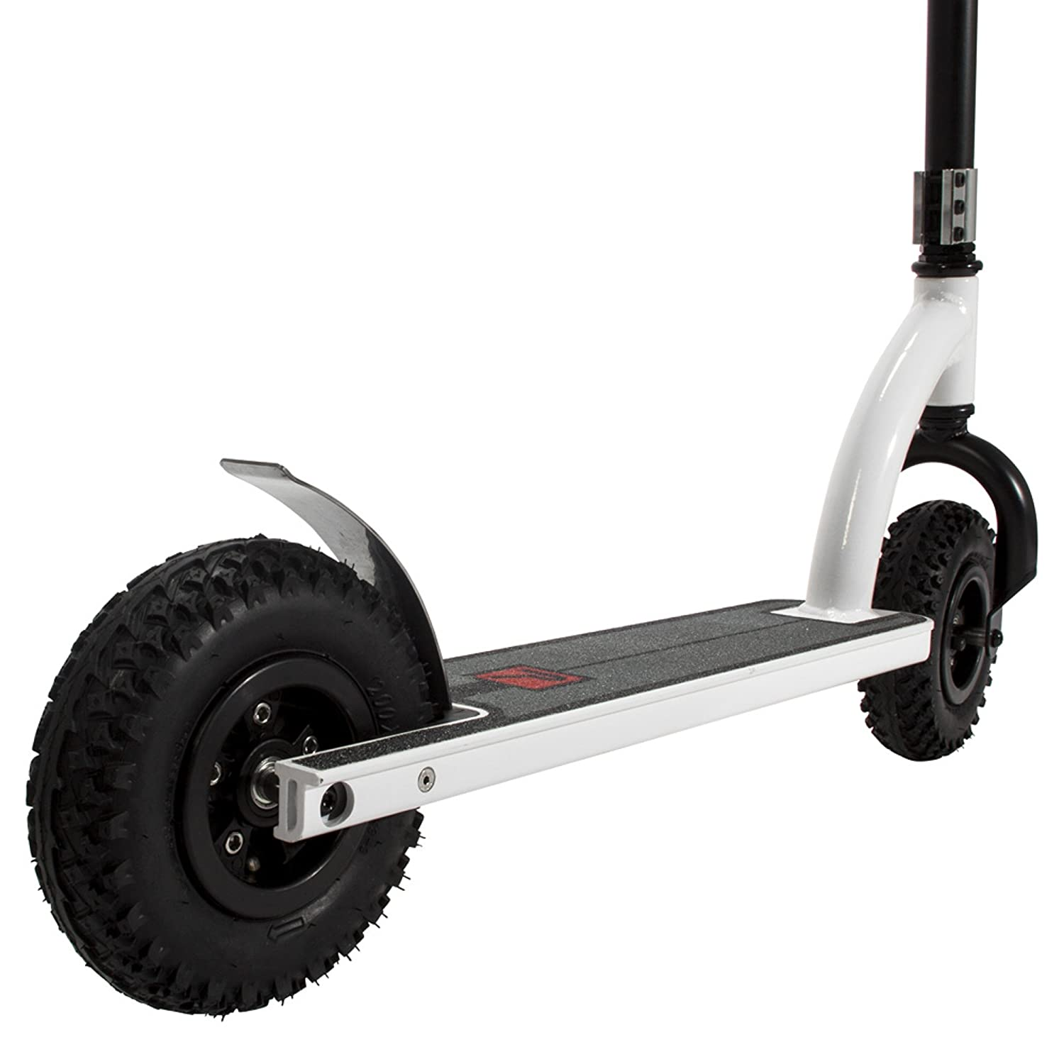 Black//White Bravo Sports 163136 Pulse Performance Products DX1 Freestyle Dirt Scooter
