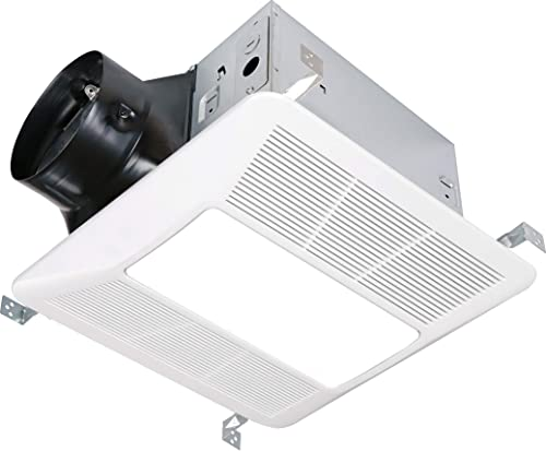 KAZE APPLIANCE Ultra Quiet Bathroom Exhaust Fan with LED Light and Night Light 290 CFM, 4 Sone