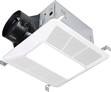 Amazon Com Kaze Appliance Ultra Quiet Bathroom Exhaust Fan With Led Light And Night Light 290 Cfm 4 Sone Kitchen Dining