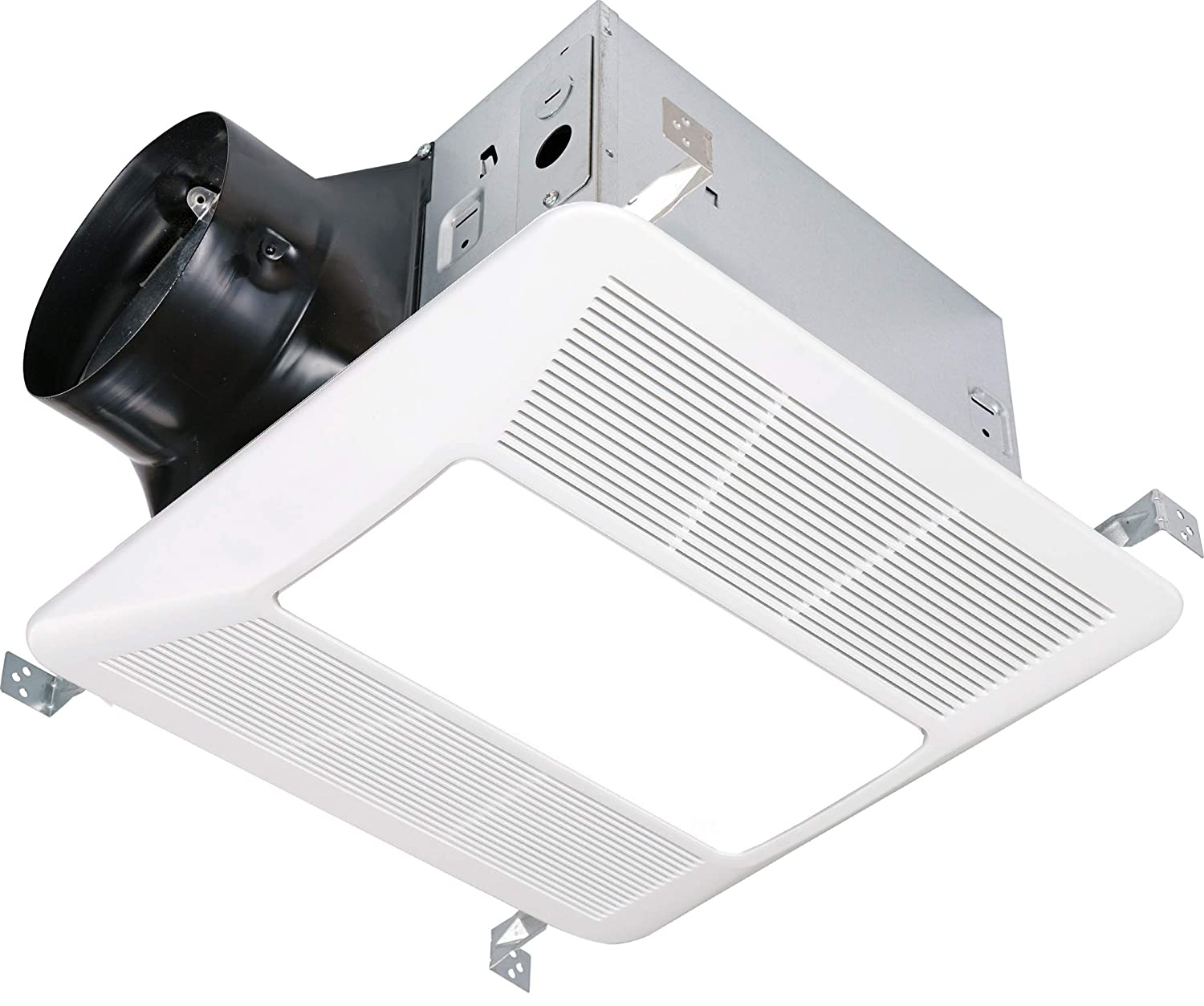 Kaze Appliance Ultra Quiet Bathroom Exhaust Fan With Led Light And Night Light 120 Cfm 0 3 Sone