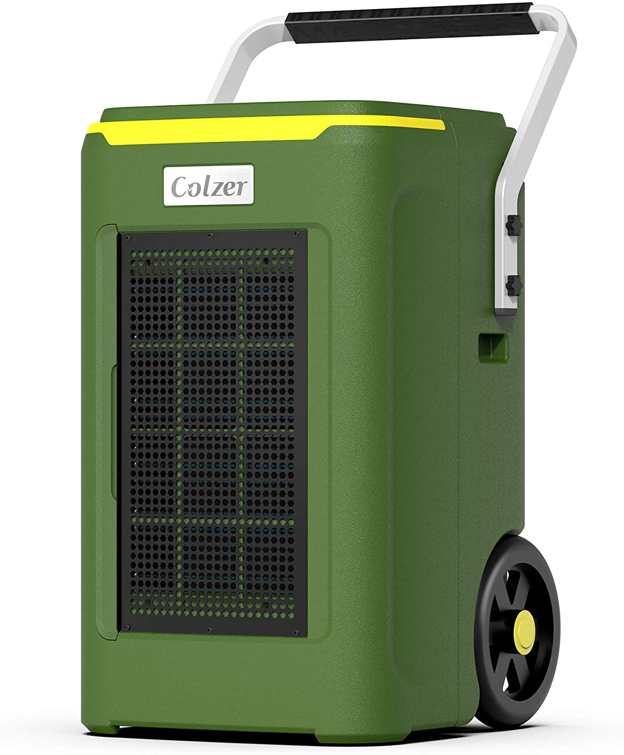 COLZER 180 Pints Commercial Dehumidifier with Pump & Drain Hose, Large Industrial Water Damage Equipment for Basements, Home, Garages & Job Sites, 180 PPD Moisture Removal