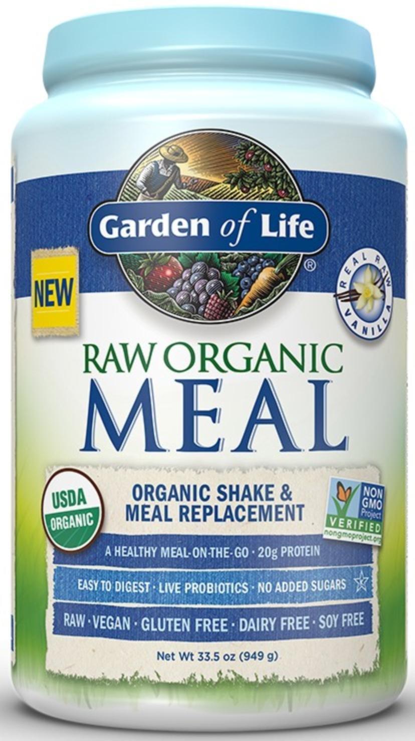 Elegant Amazon.com: Garden Of Life   RAW Meal Organic Shake U0026 Meal Replacement  Vanilla   33.5 Oz.: Health U0026 Personal Care