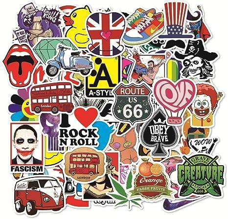 Pegatina Pegatinas de vinilo 100 piezas al Azar Sticker Factory ...