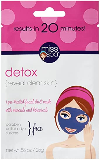 Image result for miss spa detox face sheet