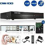 OWSOO 8CH Full 960H/D1 H.264 HDMI P2P Nube Rete DVR Digitale Video Recorder + 1TB HDD Supporto Audio Record Telefonico di Controllo Rilevamento di Movimento PTZ per CCTV Telecamera di Sorveglianza