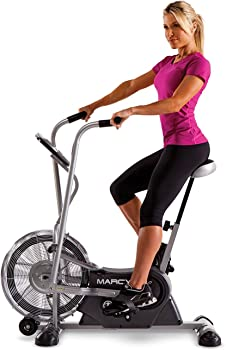 Marcy Exercise Upright Fan Bike for Cardio Training and Workout