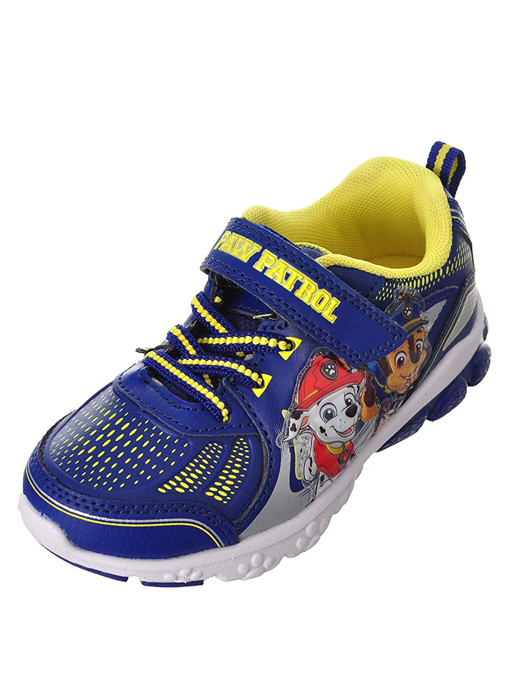 Josmo Boys Light up Paw Patrol Athletic Shoes (Toddler/Little Kid) Navy/Blue Josmo Kids