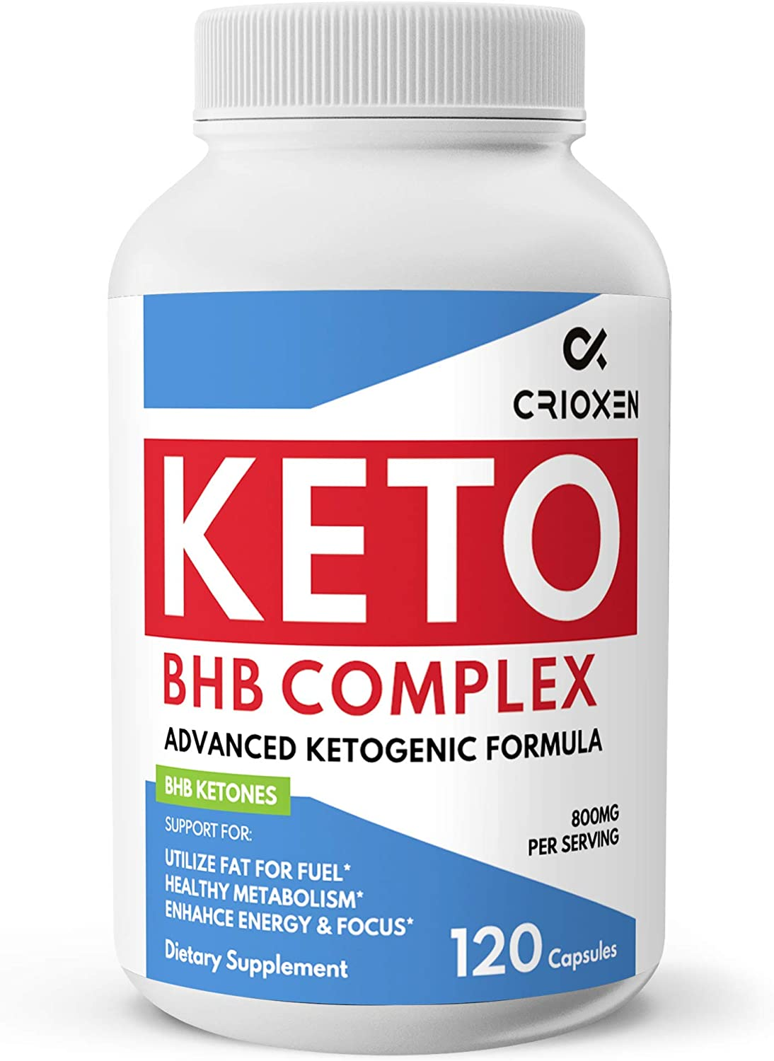 Keto Pure Diet Pills 120 Capsules- Advanced Keto Supplement Pure BHB Exogenous Instant Ketones Salts to Kickstart Ketosis Boost Energy and Focus for Men and Women 60 Day Supply