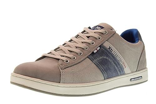 la moitié 1bd46 53ce2 Xti Chaussures Hommes Baskets Basses 47147 Gris Taille 44 ...
