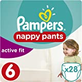 Pampers baby dry pants couches culottes taille 6 16 kg pack g ant x32 culottes - Couches culottes pampers ...