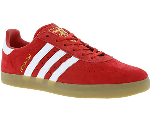 f5f3f8d85ee adidas Originals 350 Men s Genuine Leather Sneaker red BY1863