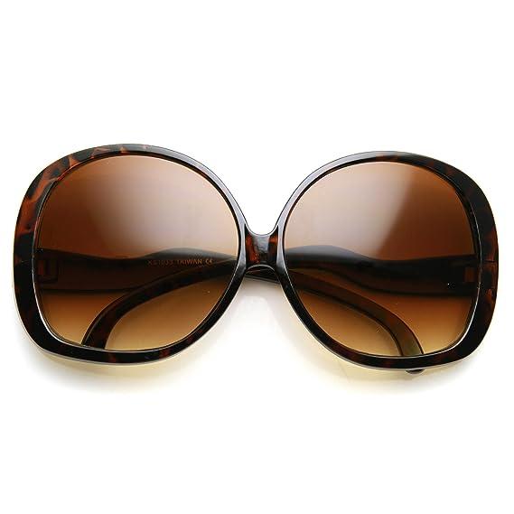 200b1b78f13b3 Amazon.com  AStyles - Big Huge Oversized Vintage Style Sunglasses Retro  Women Celebrity Fashion (Black)  Clothing