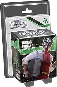 Star Wars Imperial Assault- Hondo Ohnaka Vilain Pack Board Game