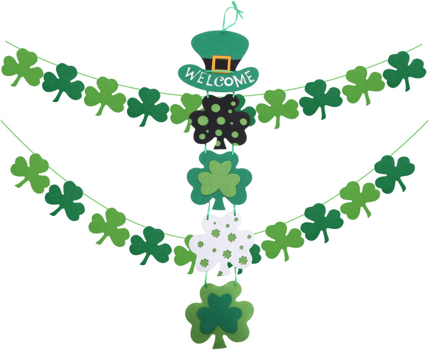 6 metre long St Patricks Cross Ireland 20 flag bunting