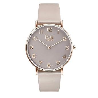 couleurs délicates original grand assortiment Ice-Watch - City Tanner Taupe Rose-Gold - Montre Marron pour Femme avec  Bracelet en Cuir - 015757 (Extra Small)