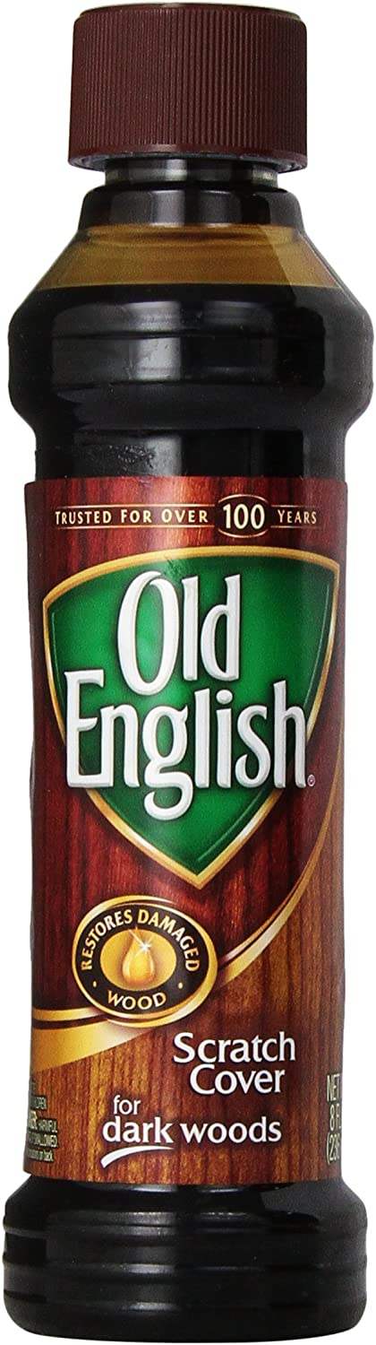 Old English Scratch Cover for Dark Wood, 8 Ounce