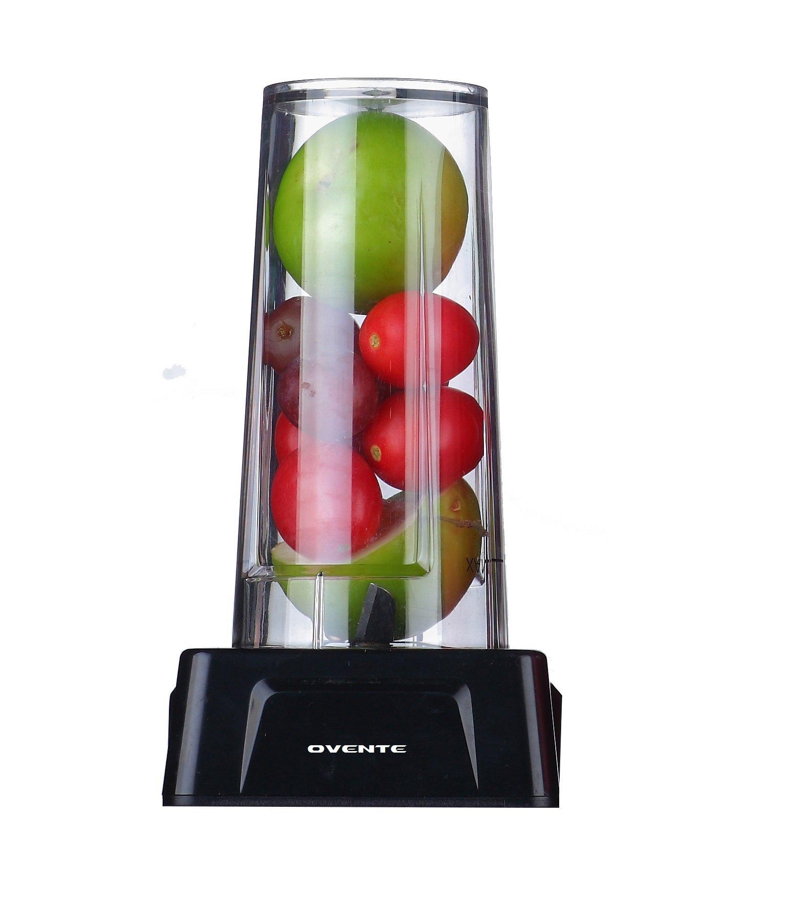 Ovente BLH1000 2-Cup Tritan Replacement Blender Tumbler Size, 14 oz
