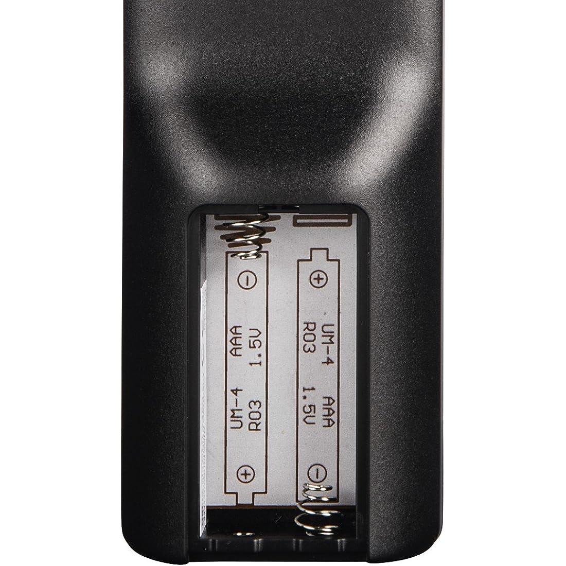 Eine Universal Ferndienung wird mit Batterien betrieben.