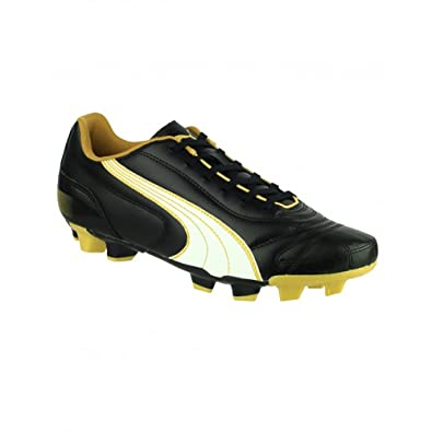 Puma Kratero - Chaussures de football à crampons moulés - Garçon (38 EUR) ( Noir/Orange): Amazon.fr: Chaussures et Sacs