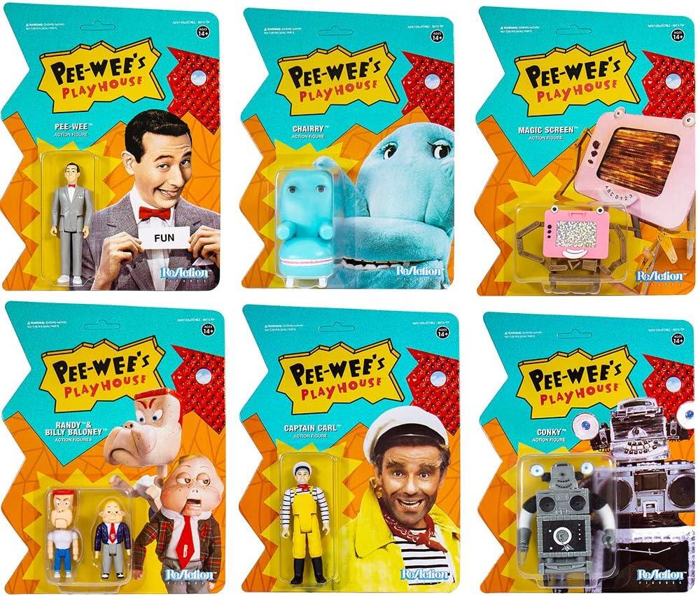 Pee-Wee Herman Pee-Wee /'s Playhouse Super 7 ReAction Action Figure NEW