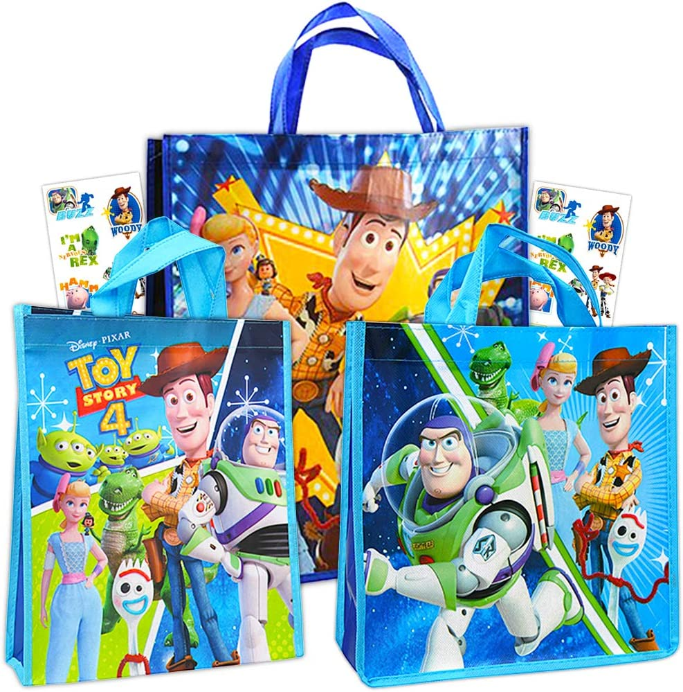 Party Bundle Toy Story Birthday Party Supply Favors includes Loot Bags Tattoos Stickers Pencils