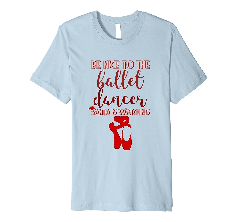 Cute Ballet Christmas Gift Tee Shirt for Teen Girls Dancer-FL