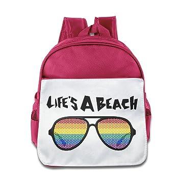 Cuipo jucpoi Kid s mochila – Novetly Lifes una playa gafas de bebé Kid Niños