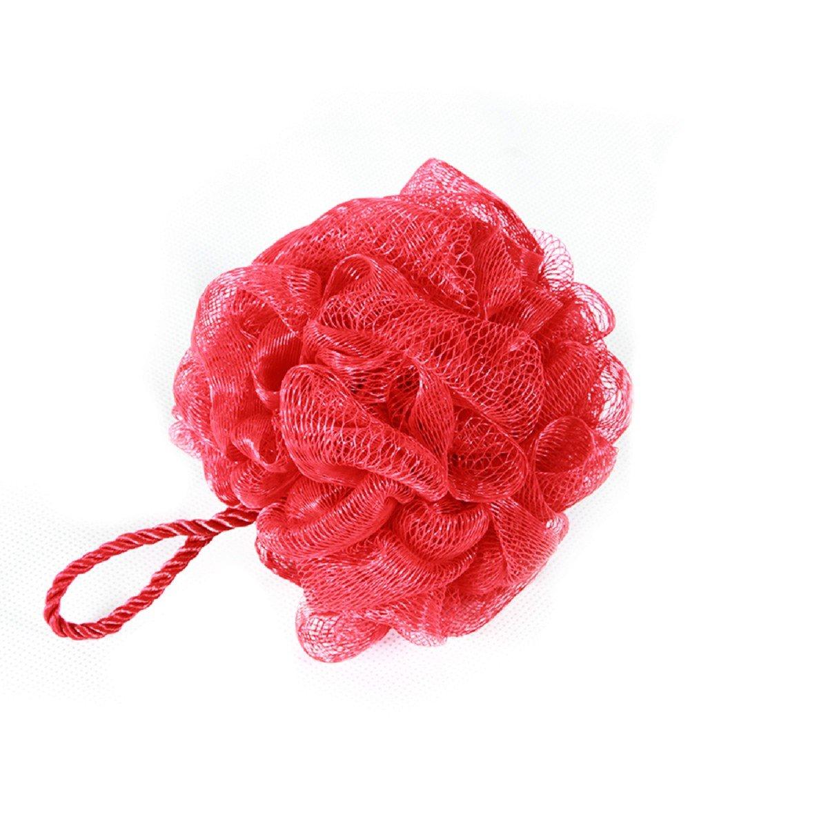 Carpe modo spugna da bagno doccia spugna einseifschwamm in plastica, colore: rosso, 1pezzi Carpemodo