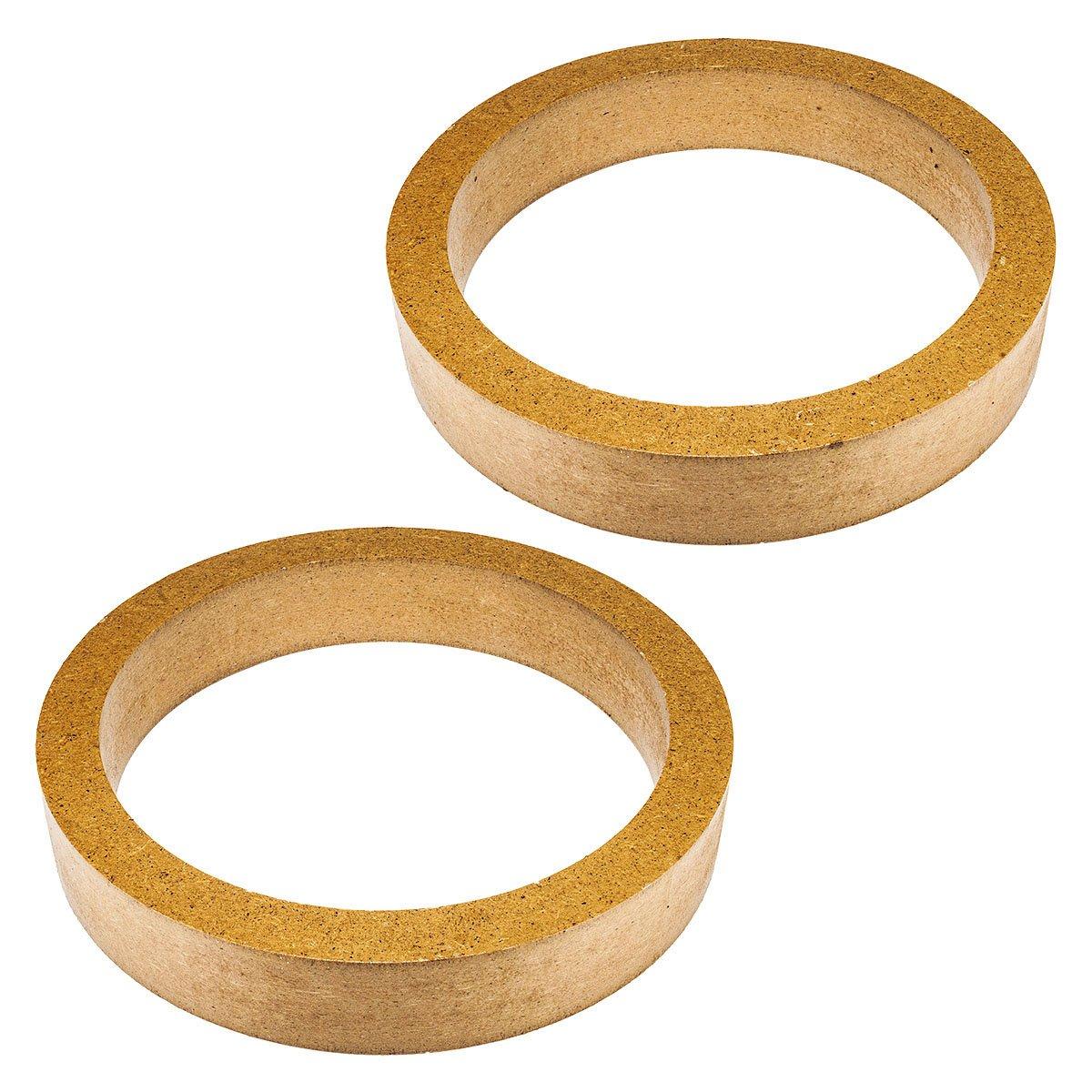 MDF saxobuy anelli per 165 mm altoparlanti 30 mm Altezza tomzz Audio ® 2800-013