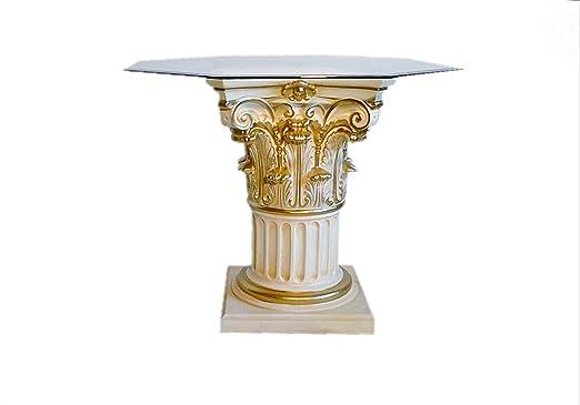 Antikes Wohndesign Casa Padrino - Mesa de Comedor de Cristal ...