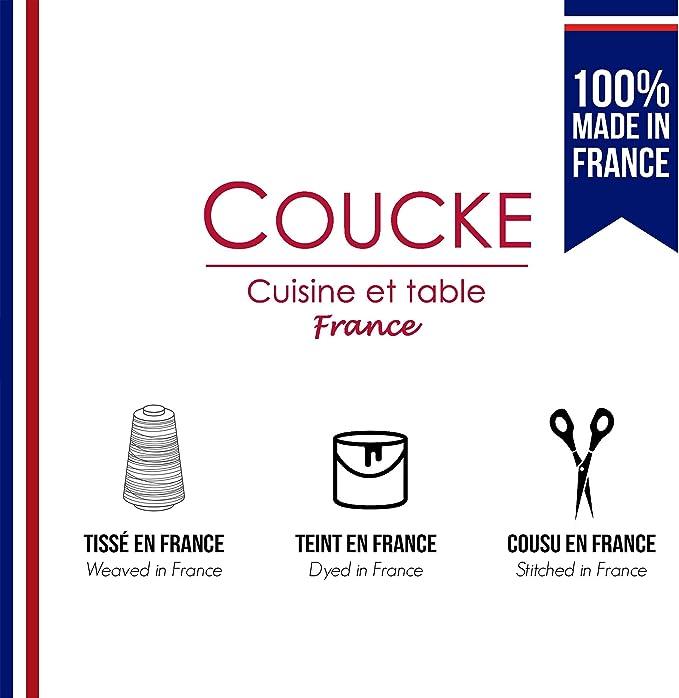 Coucke  Serviette Coton Cerise 52 x 45 x 0,3 cm Lot de 6