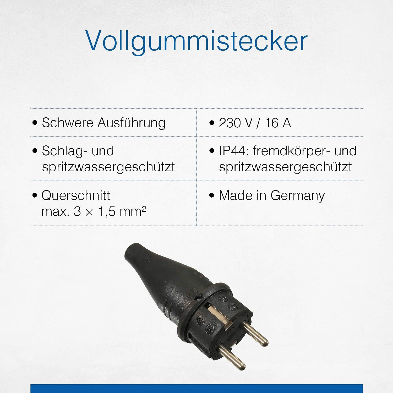 230 V Schwabe 60411 Grapa para cables as