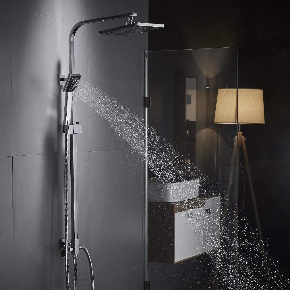 Auralum Moderde Design Duschset Duscharmatur Duschsystem mit