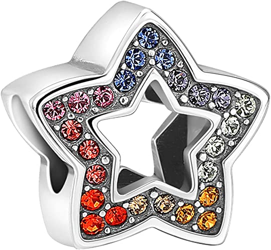 SOUFEEL Amour Infini avec C/œur Rouge Charm en Argent Sterling 925 Compatible Europ/éen Bracelets Charms Colliers pour Femme Saint-Valentin